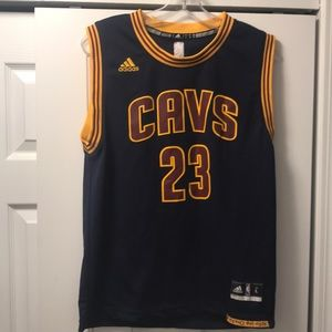 Adidas Lebron James Cleveland Jersey Youth L 14-16